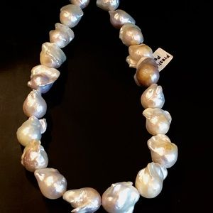 Genuine Fresh Water Pearl Baroque Fireball Beads